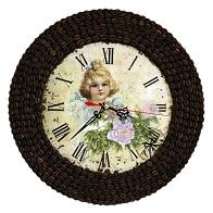Часы из кофейных зерен Марианна
