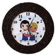 Часы из кофе Love is